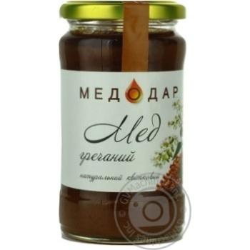 Мед Медодар гречневый натуральный 400г