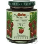 Jam Darbo cherry 200g glass jar Austria