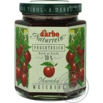 Варенье Дарбо вишневое 200г Австрия - купить, цены на Novus - фото 1