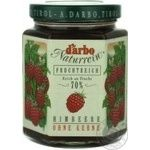 Jam Darbo raspberry 200g glass jar Austria