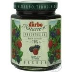 Jam Darbo with wild berries 200g glass jar Austria