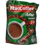 Instant coffee drink MacCofee Strong 3in1 Max stick 20x16g Singapore