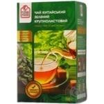 Чай Файн фуд зелений крупнолистовий 100г