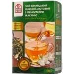 Tea Fine food with jasmin green loose 100g cardboard packaging Ukraine