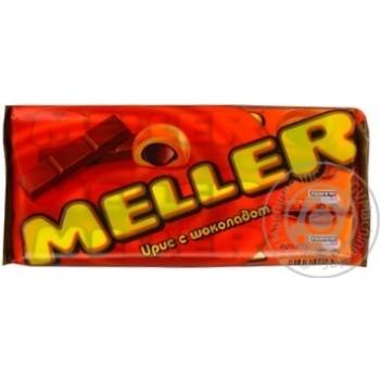Конфеты Меллер ирис с шоколадом 38г Россия