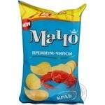 Чипсы Мачо Премиум XXL картофельные со вкусом краба 135г Украина