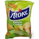 Чипсы Люкс лук с сыром 140г Украина