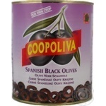 olive Coopoliva black pitted can Spain