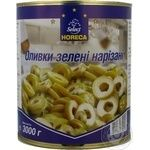 olive Horeca select green pitted 3000ml can