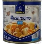 Mushrooms cup mushrooms Horeca select sterilized 2650ml can Holland