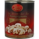 Mushrooms cup mushrooms Best time pickled 850ml can Holland