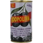 olive Coopoliva black with bone 370ml can
