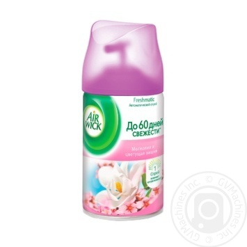 Air Wick Freshmatic Replaceable aerosol can Magnolia and cherry blossom 250ml - buy, prices for MegaMarket - image 1
