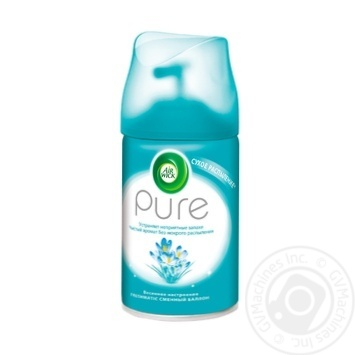 Air Wick Pure Replaceable aerosol can Spring mood 250ml - buy, prices for MegaMarket - image 1