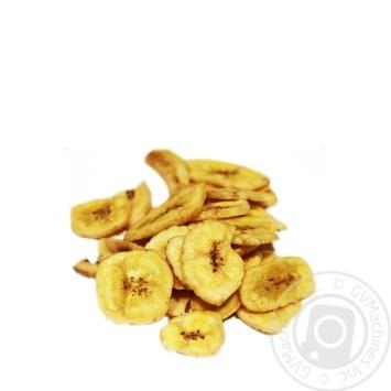 Сухофрукты банан сушеная