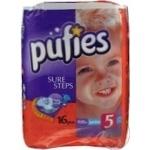 Diaper Molfix for children 11-25kg 86pcs Turkey