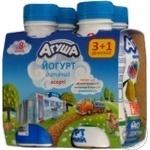 Йогурт дитячий Агуша асорті 2.7% 200г х 4шт