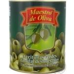 Оливки Маэстро де Олива гигантские без косточки 3250мл Испания