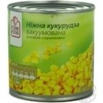 Vegetables corn Fine food canned 340g can Russia