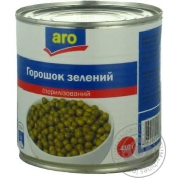 Горошок зелений Aro консервований - купити, ціни на Метро - фото 8