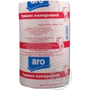 Aro Pink Paper Towel - buy, prices for Metro - image 2