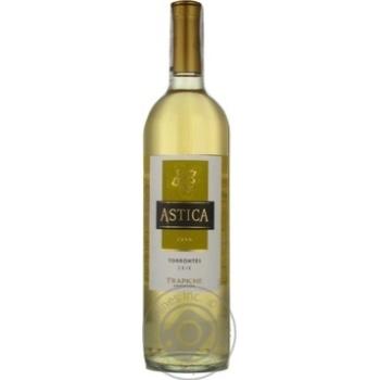 Вино Trapiche Astica Torrontes белое сухое 13% 0,75л