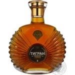 Коньяк Тигран Армянский 5* 40% 500мл