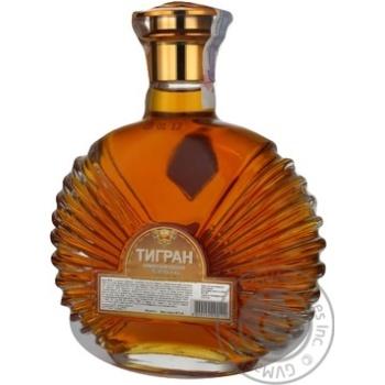 Коньяк Тигран Армянский 5* 40% 0,5л - купить, цены на Novus - фото 3
