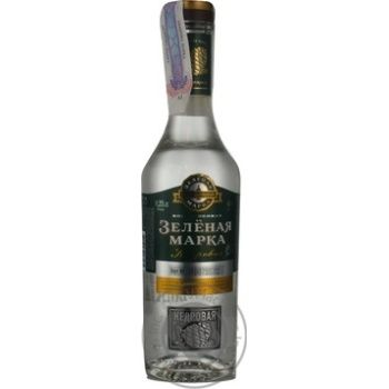 Горілка Зелена марка Кедрова 40% 0,25л