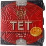 Tea Tet Earl grey black packed 40pcs