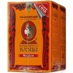 Tea Princess kandy black loose 180g cardboard packaging Ukraine