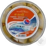 Fish herring Zahid-riba preserves 500g hermetic seal Ukraine