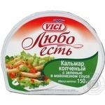 Морепродукты кальмар Вичи копченые 150г Литва