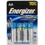 Батарейка Energizer Maximum AA/LR6 Fsb4