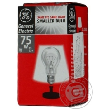 Bulb General electric e27 75w 240v - buy, prices for Novus - image 7