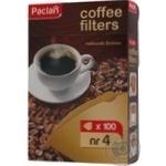 Фільтри для кави №4 Paklan 100шт