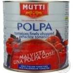 Mutti canned pieces tomato 2,5 kg