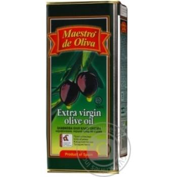 Масло Маэстро де Олива оливковое нерафинированное экстра вирджин первого холодного отжима 500мл