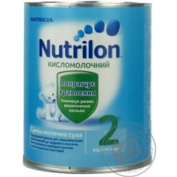 Смесь молочная Нутриция Нутрилон 2 Кисломолочный сухая для детей с 6 месяцев железная банка 400г - купить, цены на Ашан - фото 5