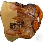Хліб Київхліб супер тост з висівками нарізаний 300г Україна