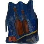 Пиво Балтика Классическое №3 светлое пастеризованное стеклянная бутылка 4.8%об. 6х500мл Украина