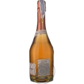Вино игристое Schlumberger Rose Brut 11.5% 0.75л - купить, цены на Novus - фото 2