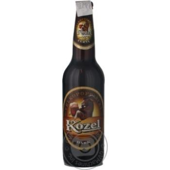 Пиво Velkopopovicky Kozel 3.8% темное 500мл Чехия