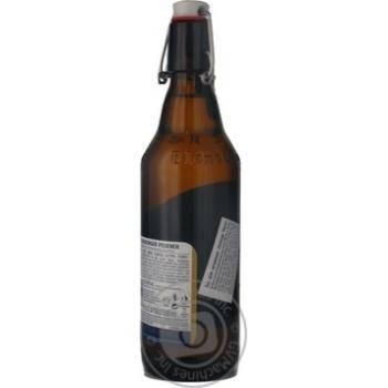 Пиво Flensburger Pilsner светлое 4.8% 0,5л - купить, цены на Novus - фото 2