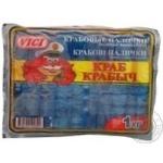 Crab sticks Vici Krab krabich precooked 1000g