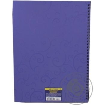 Buromax Barocco Notebook With Spring A4 80 Sheets - buy, prices for Novus - image 2