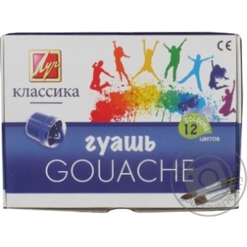 Gouache Luch 12colors 20ml - buy, prices for Novus - image 1