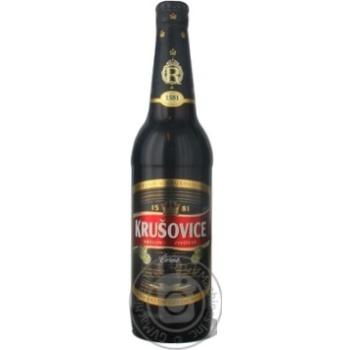 Пиво Krusovice темное 3.8% 500мл Чехия