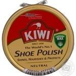Крем для обуви Kiwi нейтральный в банке 50мл