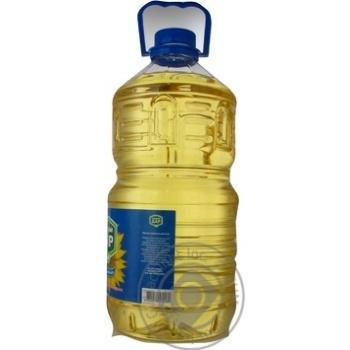 Масло подсолнечное Щедрий Дар рафинированное дезодорированное вымороженное 5л - купить, цены на Novus - фото 2
